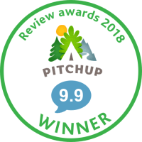 Penbugle Farm has won a winners review award from Pitchup.com